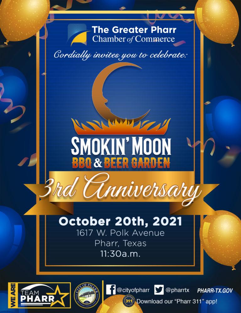 Smokin Moon Invite